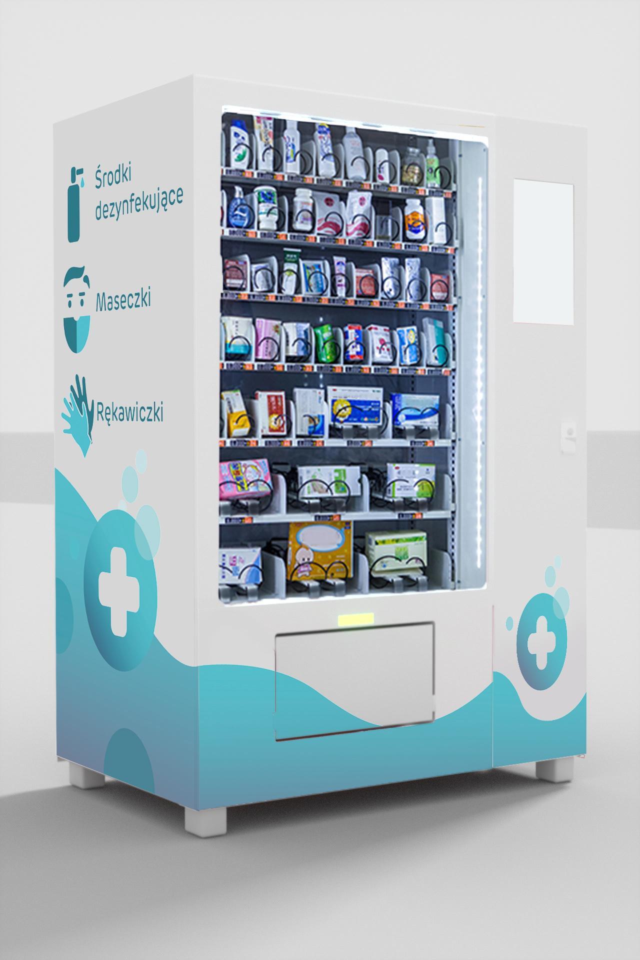 Maseczkomat wizualizacja2 1 - Mask vending machines
